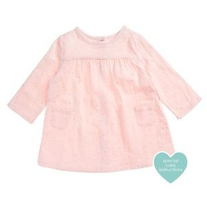 Aden + Anais Long Sleeve Pocket Dress *NEW* 0-3mos